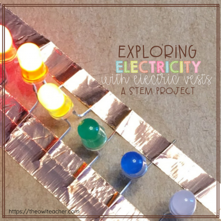 Assessing electricity doesn't have to be a challenge! On the contrary, it can be authentic, engaging, and hands-on! This blog post describes in detail a STEM activity where students take on the role of engineers who have to create electric vests. Watch their minds buckle down and work on this fun STEM challenge!