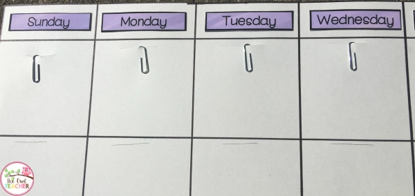 How To Create A Diy Classroom Calendar  The Owl Teacher