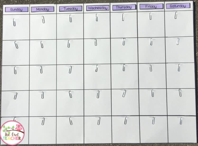 Save some money and create your own DIY classroom calendar with these easy and inexpensive steps! A DIY calendar is perfect for any classroom decor, and with just a little bit of time, you can create your own calendar that you can use year after year. Click through to read the steps involved in making a DIY classroom calendar!