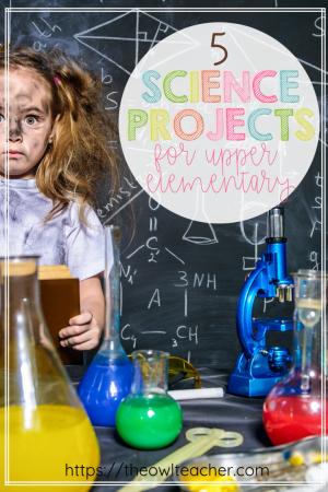 Science information doesn't just come from a textbook. There's a whole wealth of knowledge and skills to be learned from science projects and experiments, too! Click through to read about five science projects that are perfect for upper elementary classrooms.