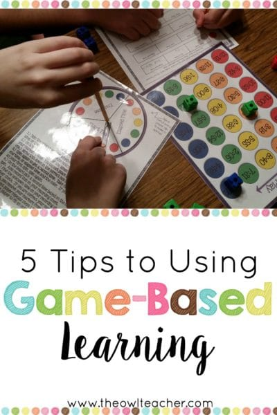 Are you considering game-based learning in your classroom? Check out these tips and teaching ideas to help you get started both digitally and in paper form today!