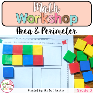 Perimeter and Area Unit for Math Workshop