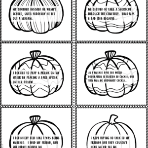 Halloween Writing Prompts & Story Starters Printable & Digital (Google)