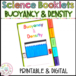 Density and Buoyancy Investigation Booklet Printable & Digital