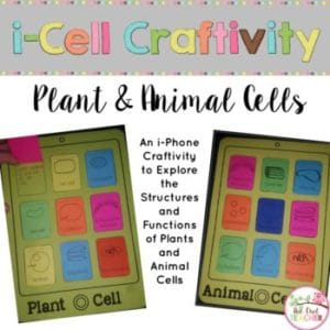 Plant and Animal Cells Craftivity (iCell)