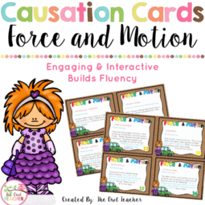 Force and Motion Causation Cards