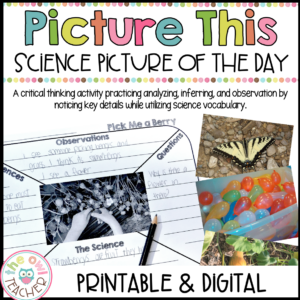 Science Picture of the Day | Photo Prompts Printable & Digital (Google)