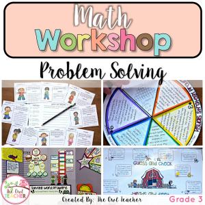 Problem Solving Unit for Math Workshop