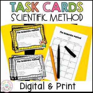 Scientific Method and Process Skills Task Cards