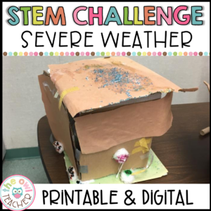 Severe Weather Activity | STEM Activity Printable & Digital (Google)