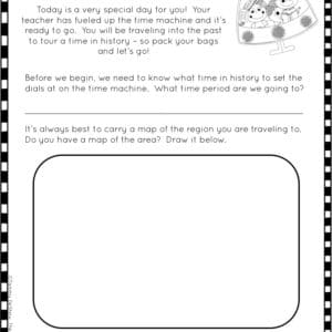 Social Studies Time Traveling Adventures Printable & Digital