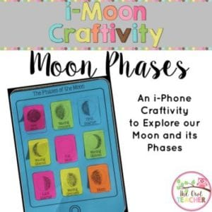Moon Phases Craftivity (iMoon)