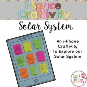 Solar System Craftivity (iSpace)