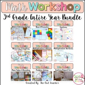 3rd Grade Math Workshop Bundle