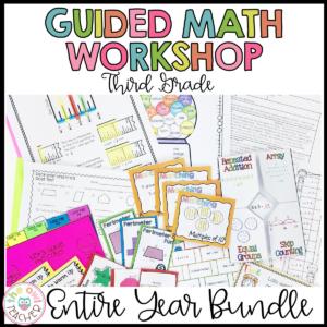 3rd Grade Math Workshop Bundle