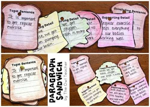 Expand your students' writing skills with these teaching ideas on writing a paragraph!