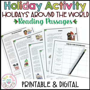 Holidays Around the World | Christmas Around the World | Reading Passages