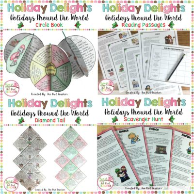 Are you teaching holidays around the world this Christmas season? Here are some teaching ideas to help you survive and engage your students all at the same time - and grab a freebie!