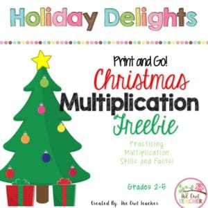 Looking for a way to survive until winter break? Check out this blog post with Christmas ideas galore! It's full of ideas and Christmas activities for the holidays in your classroom!