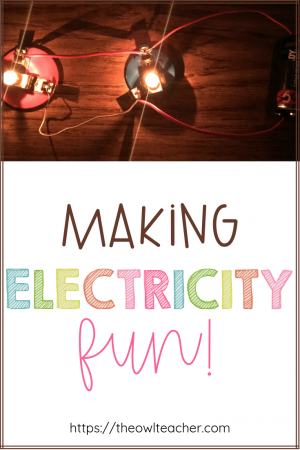 Engage your students by making electricity fun. Check out these science teaching ideas for the next time you have to teach electricity in your upper elementary classroom.