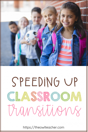 During classroom transitions, student like to get off task and talk, causing time to be wasted. These classroom management strategies can help you save time in the classroom while speeding up your transitions so that you have more time for teaching.