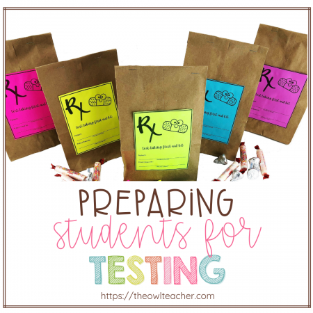 Help students know exactly what they need to do before, during, and after testing to be successful with this motivating, inspirational, and engaging test prep activity! Also grab a freebie!