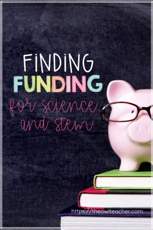 Are you tired of using your own money to fund science and STEM activities? Check out these 10 different ways that you can find funding for science and STEM to help you keep the engaging science experiments and keep your own money in your own pocket.