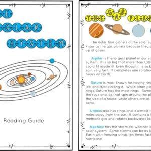 Solar System Accordion Booklet