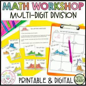 Multi-Digit Division Guided Math Workshop