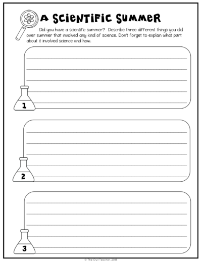 Check out these beginning of the year science activities to get you started this school year! This post has lots of science ideas and a freebie to engage your students this year!