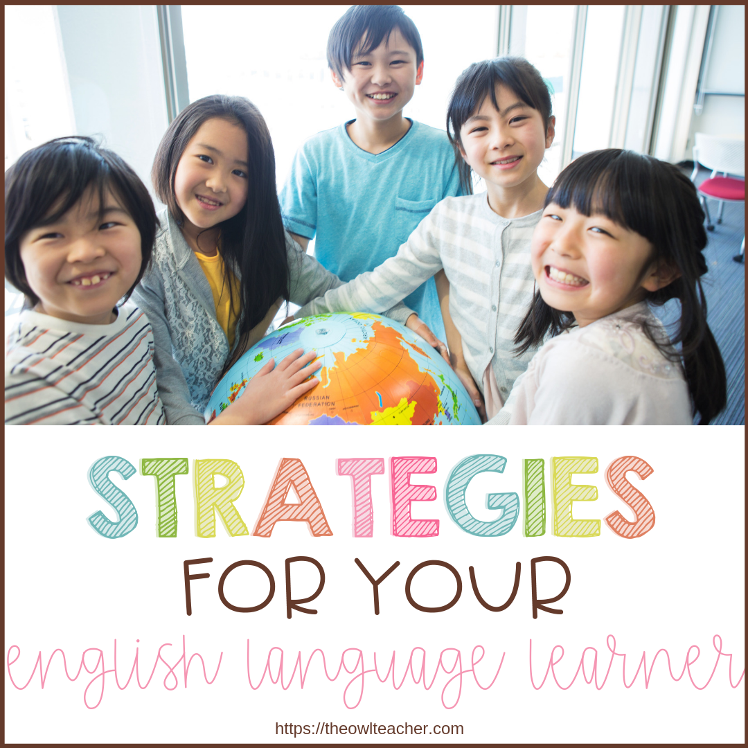 ELL, ESOL, LEP, ELD. We all have experienced English Language Learners at some point during our teaching careers. Learn some strategies to help both you and them be successful!