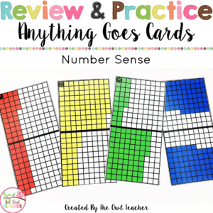 Anything Goes Cards Number Sense