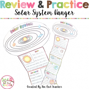 Solar System Hanger (Hanging Display)