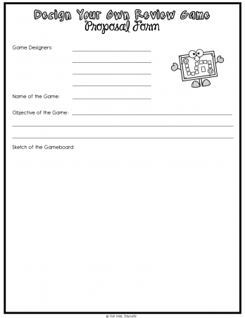 Engage your students at the end of the year with this review and practice activity where students design their own game! Grab a freebie and get started!