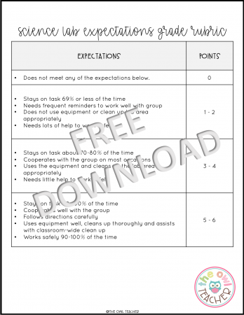 Managing science labs can be easily done so that your students will be on task and learning! Check out this post and grab a freebie!