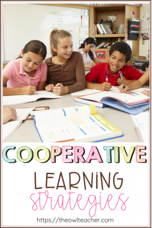 Cooperative learning is an excellent way to put students in charge of their own learning! Check out these 10 different activities for your elementary classroom!