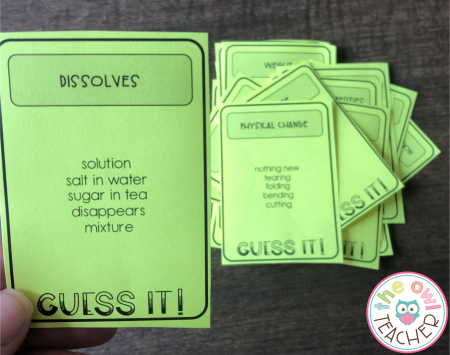 Games are such a great way to help your students learn that all-important science vocabulary. Check out these other ideas!