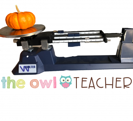 There are lots of ways to measure pumpkins for both math and science. Check out these ideas on The Owl Teacher's blog!