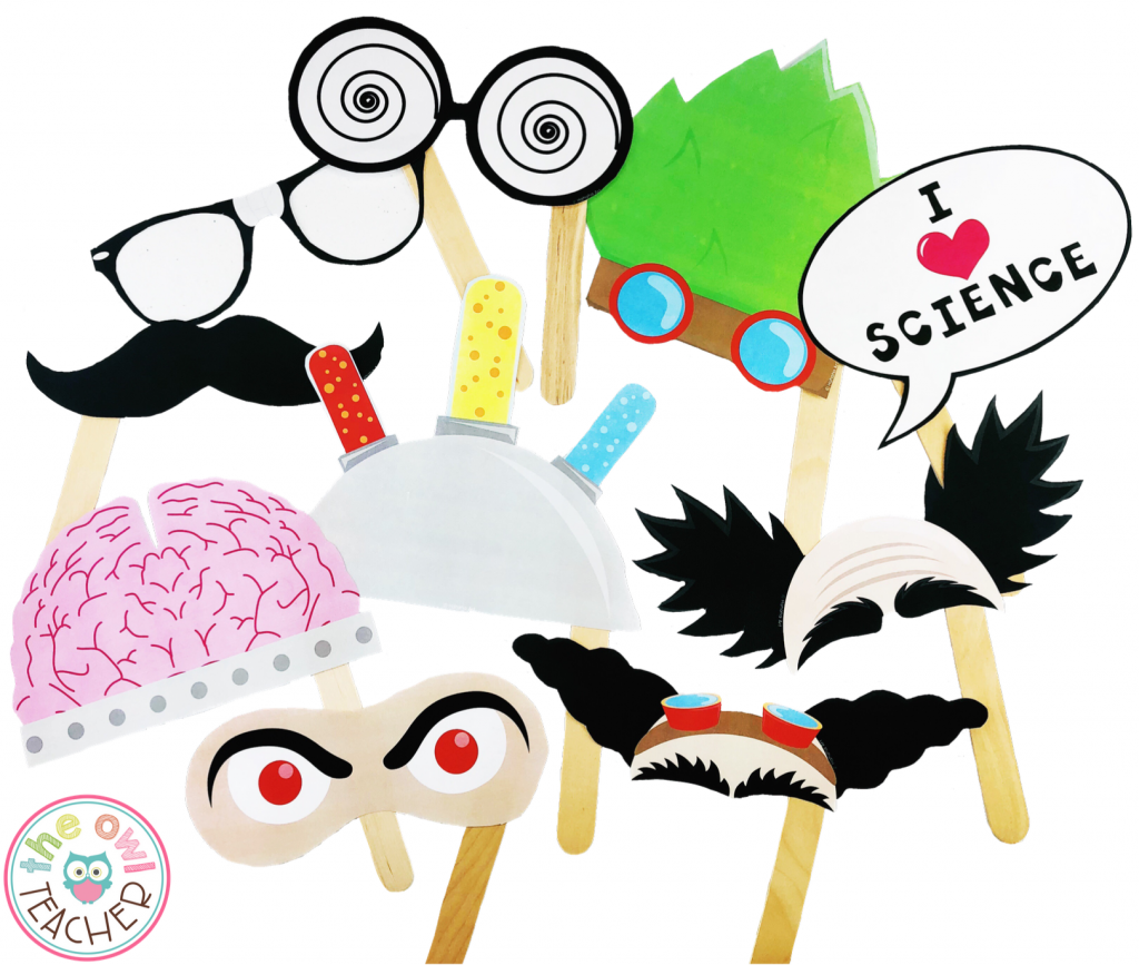 Make your math and science night exciting with these FREE Cell-Fie Science Photo Booth materials.