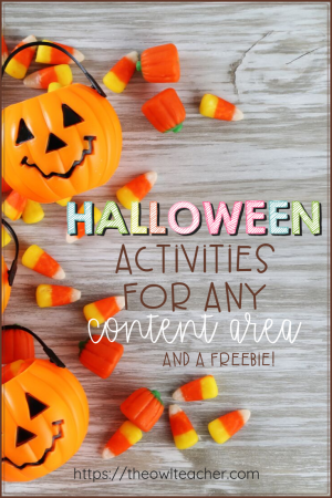 If you are looking for some teaching ideas for Halloween, look no further! I have you covered in ALL content areas with Halloween ideas that are both engaging and educational - plus grab a freebie!