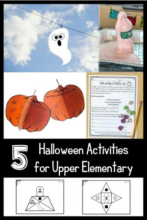 Are you looking for other Halloween activities for upper elementary? Look no further! We have you covered and we've got freebies!