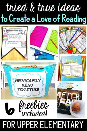 Help your students create a passion for reading during science with these great ideas and grab some awesome freebies along the way!