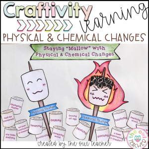Physical and Chemical Changes Craftivity