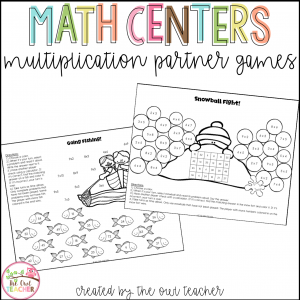 Multiplication Practice Partner Games