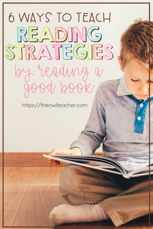 While your students are learning from home, you can still teach them reading strategies with these ideas using a good book! Check out these 6 ways!