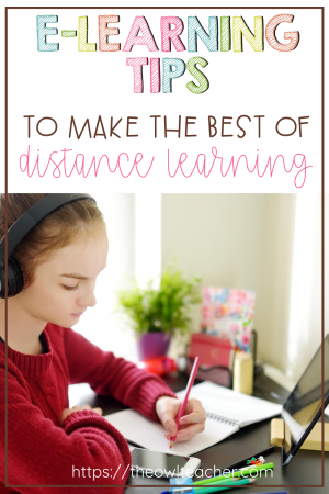 When you have to teach online or through distance learning, it can be a challenge. Check out these e-learning tips to help make the best of your school year and make online learning a breeze!