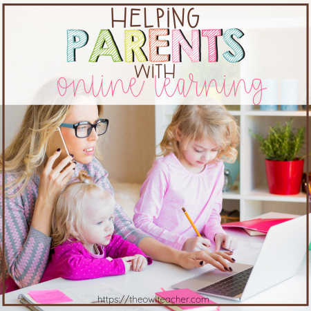 To have a smooth virtual learning school year, you're going to need to help your parents and students with these parent tech tips for online learning! Check out these four tips to make distance learning run more smoothly for your classroom!
