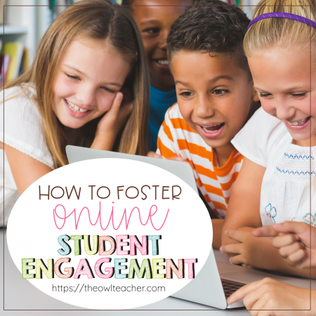 Are you trying to figure out how you are going to foster online student engagement this upcoming school year? This post contains a few ideas for teachers who may end up teaching remotely or have to have a hybrid approach! Click through to read now!