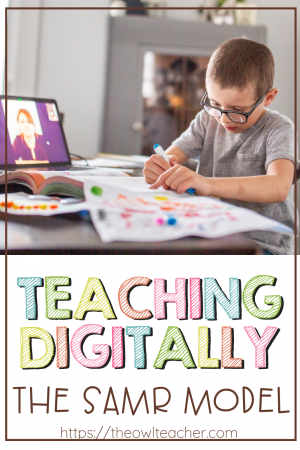 Incorporating technology has always been a part of our teaching, but now with distance learning and teaching digitally, we have to incorporate more than ever! Learn about the SAMR model and how it affects online learning and the technology you use in the online classroom!