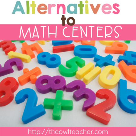 If you're looking for some alternatives to math centers during your guided math time, check out these three ideas that are simple but quick! They will engage your students and help you differentiate! It's perfect for math workshop! Save this pin and click through to read more.